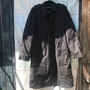 Vintage military utility trench
